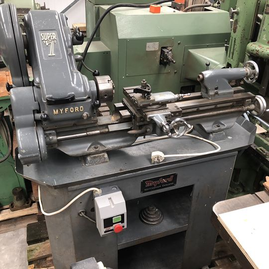 Myford Super 7 Lathe
