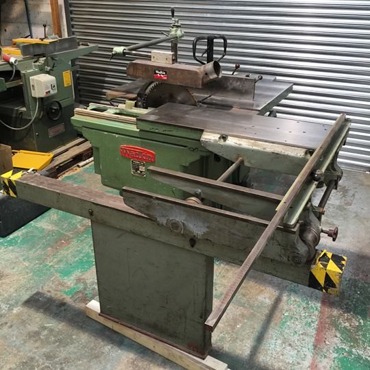 Wadkin PP Sliding Table Saw