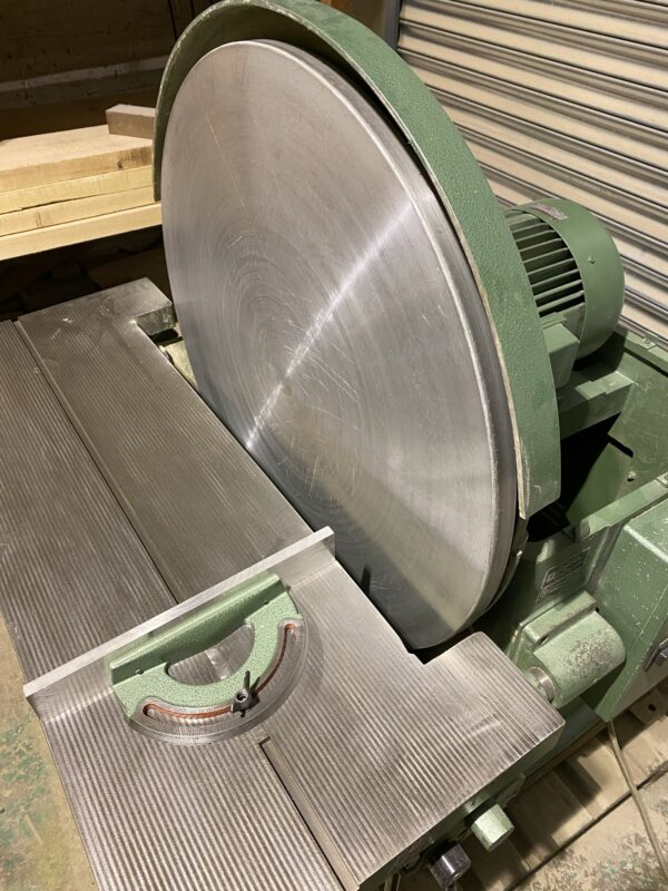 Zimmermann SZ3 900mm disc sander