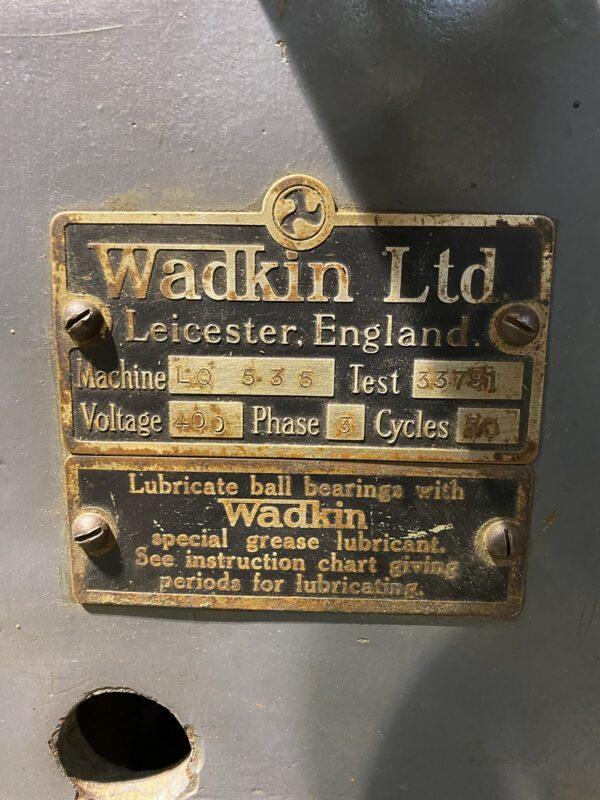 Wadkin LQ