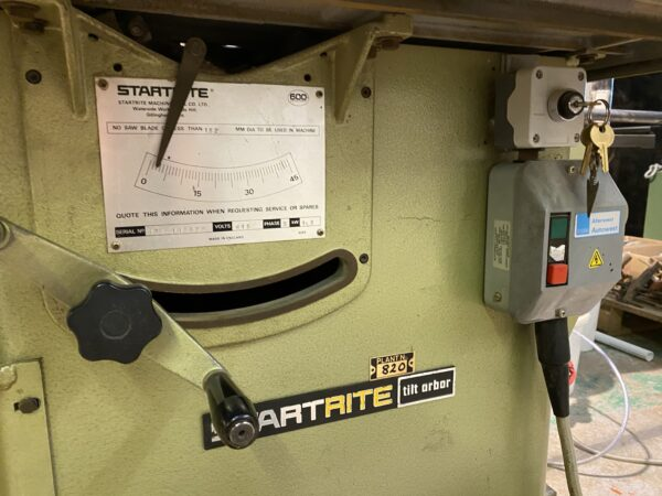 Startrite 175 table saw