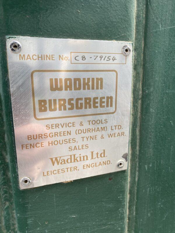 wadkin c8 bandsaw