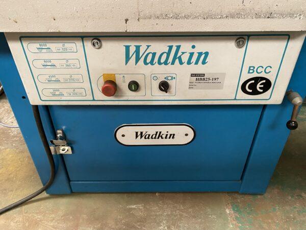Wadkin BCC spindle moulder